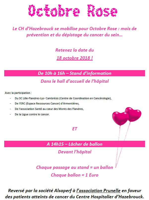 octobre rose 2018 CHH