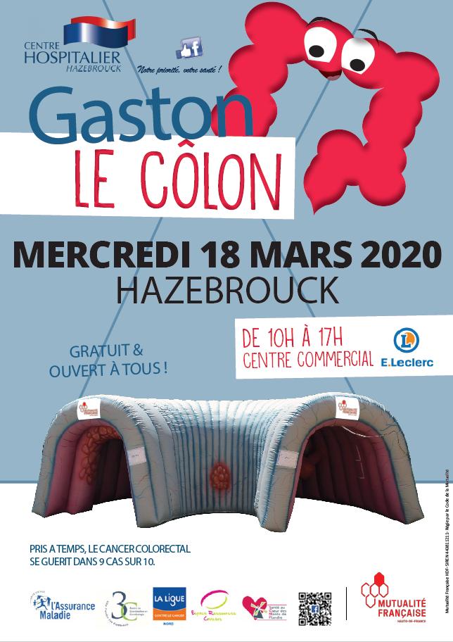 Affiche Mars Bleu 2020